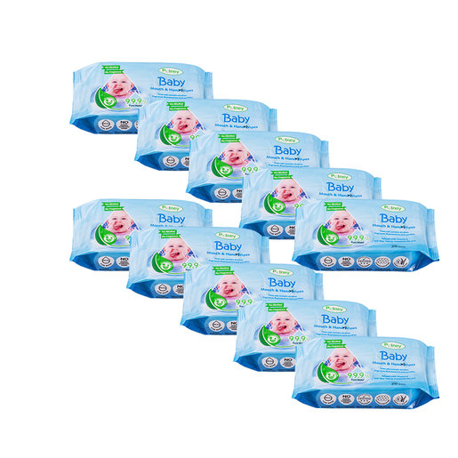Potney Pure Water Baby Wipes 20pcs - 10packs