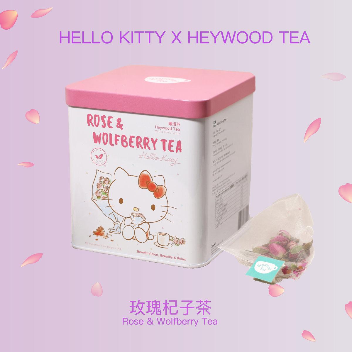 Hello Kitty x Heywood Tea - Rose & Wolfberry Tea 4g x 12