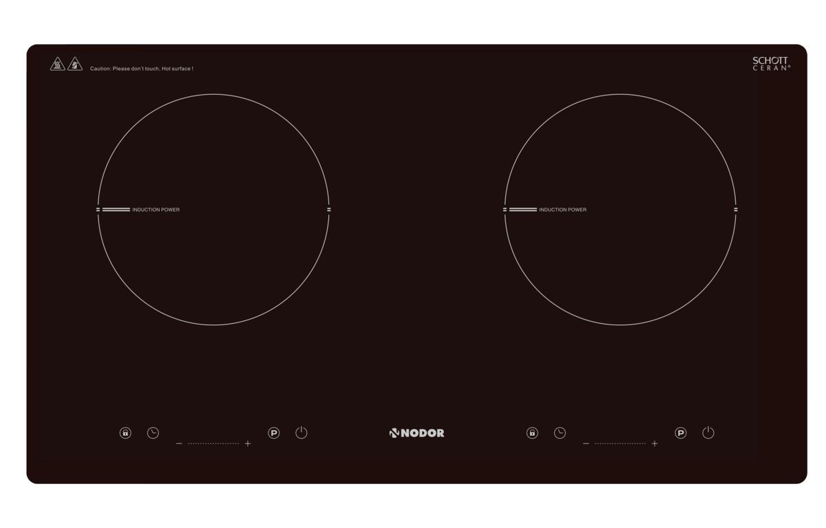 [免運費] I 2070 BKHK 嵌入式電磁爐 (雙爐頭 / SCHOTT® 黑色玻璃 / 71cm)