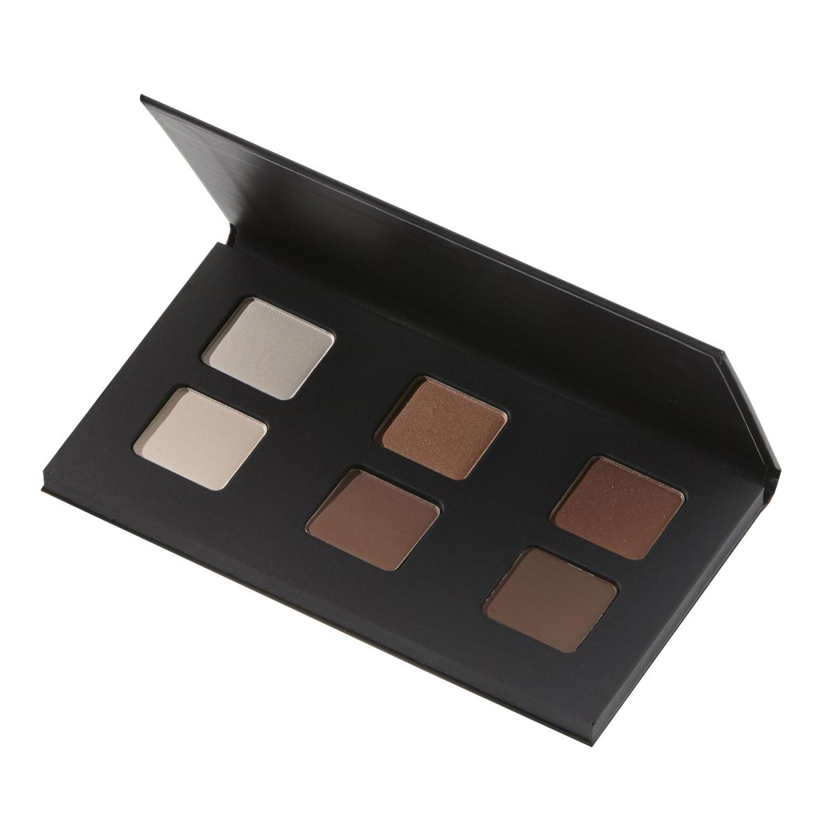 Palette of 6 eyeshadows Nude