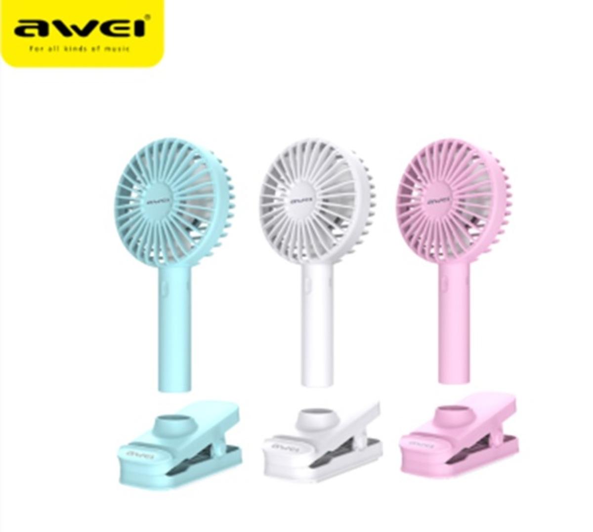 AWEI F1 Portable wireless fan - Blue