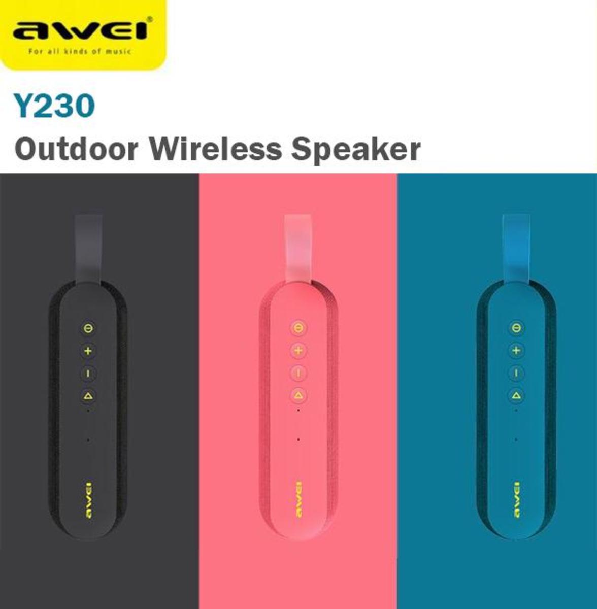 Wireless Bluetooth (Y230) Black