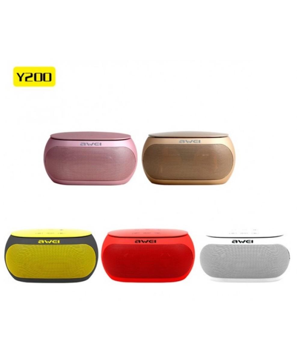 Wireless Bluetooth Speaker (Y200) Gold