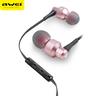 (ES-50TY) In-ear Wire Control Earphone Dual Dynamic Units Earbuds-Black