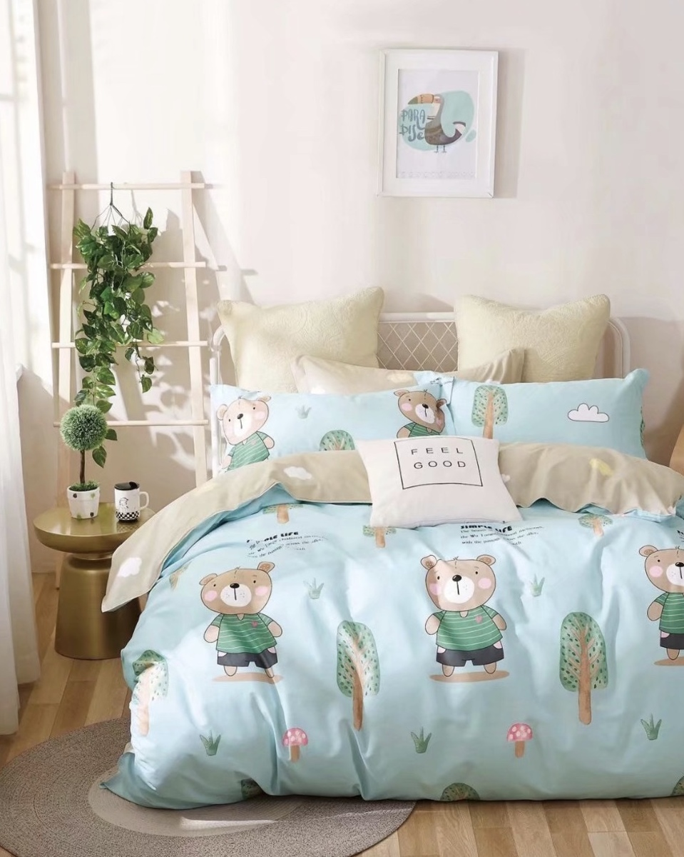 Cotton 780 threads bedding set (Co36) Double