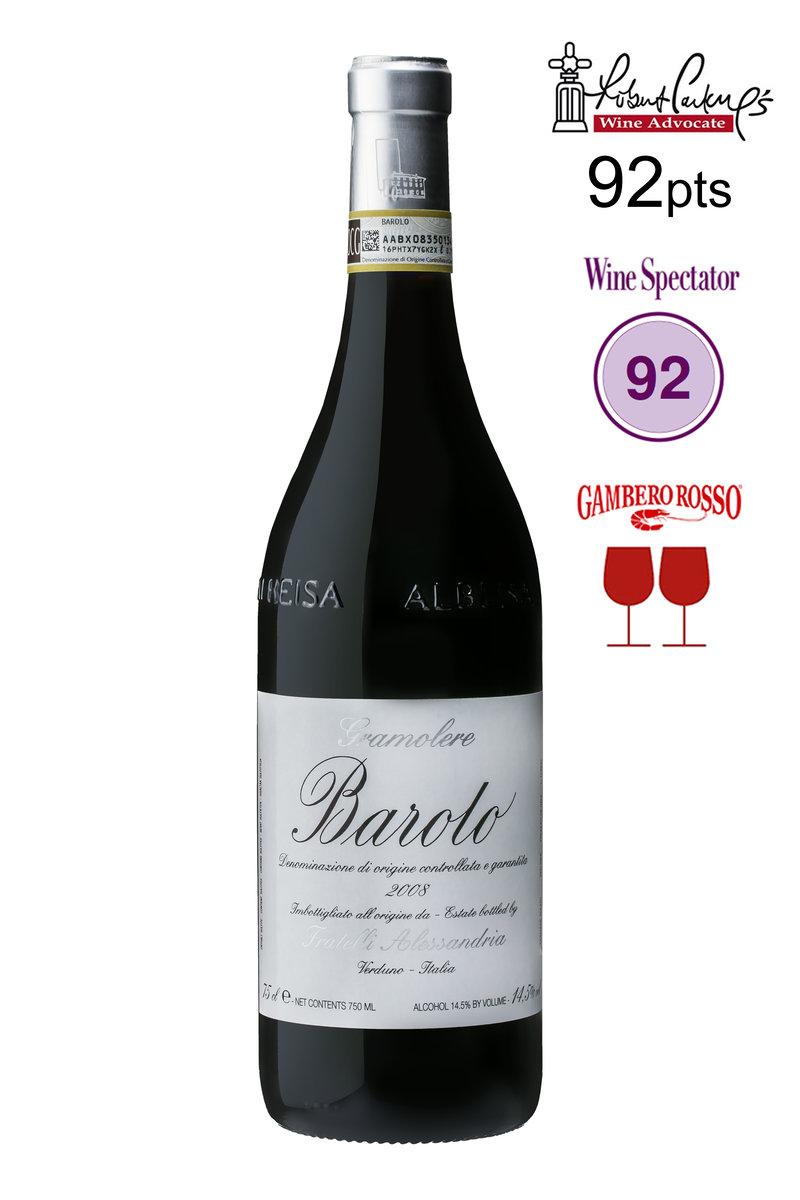 Barolo Le Gramolere 2008 DOCG (Red Wine)