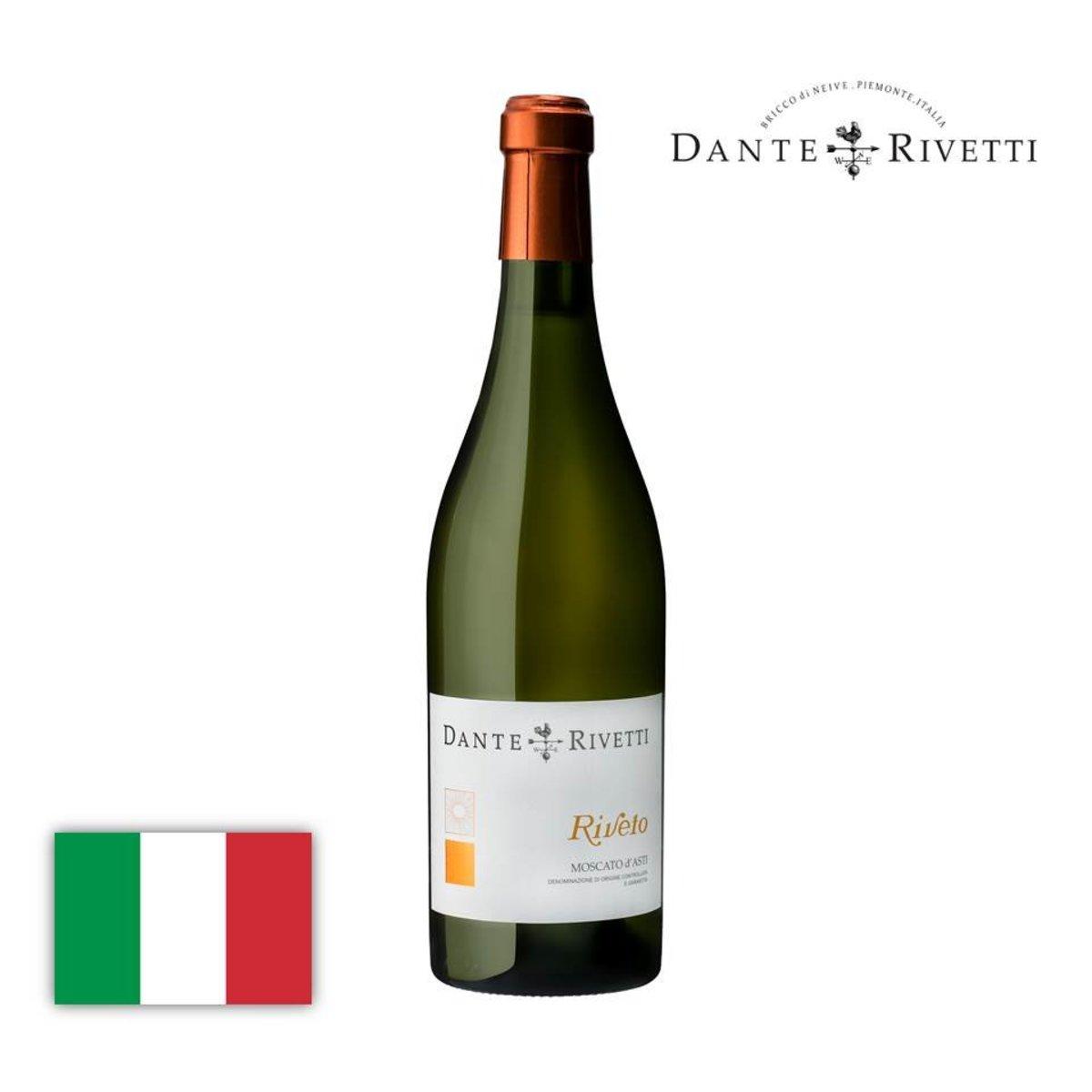 Moscato d' Asti Riveto DOCG 2019 (White Semi-Sparkling Wine)