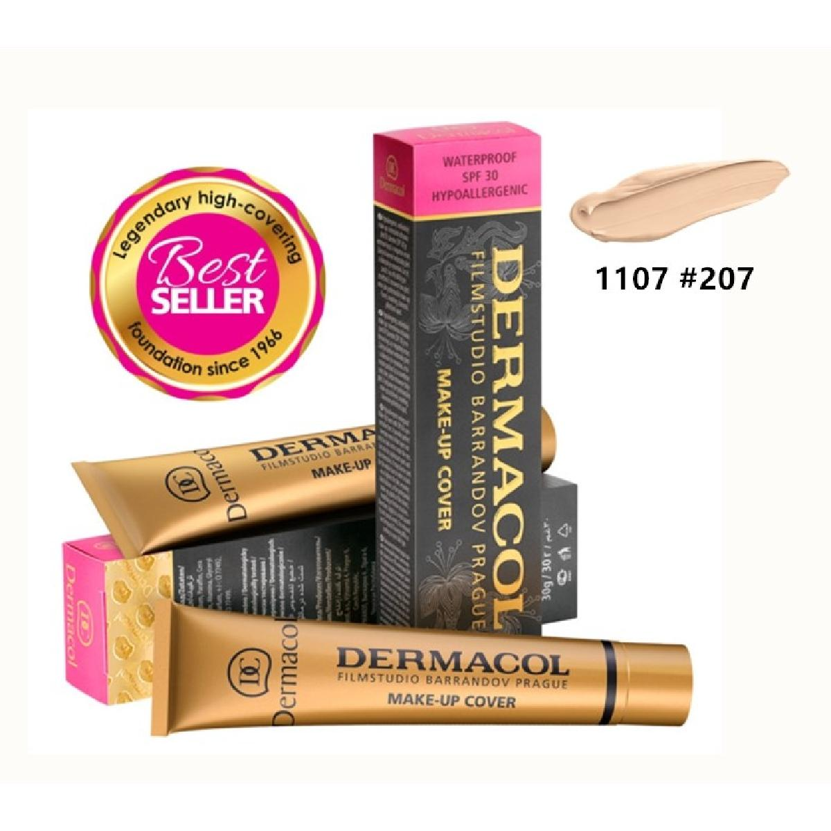 Dermacol make-up cover 30g - 207 (16 colors)