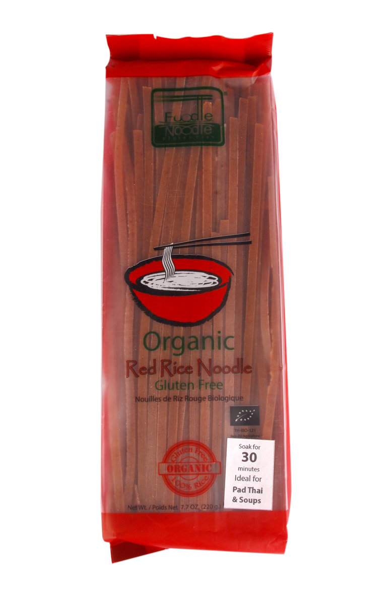 Organic Red Rice Noodle  220g