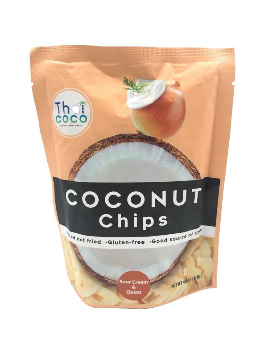 TC-Coconut Chips(Sour Cream& Onion) 40g