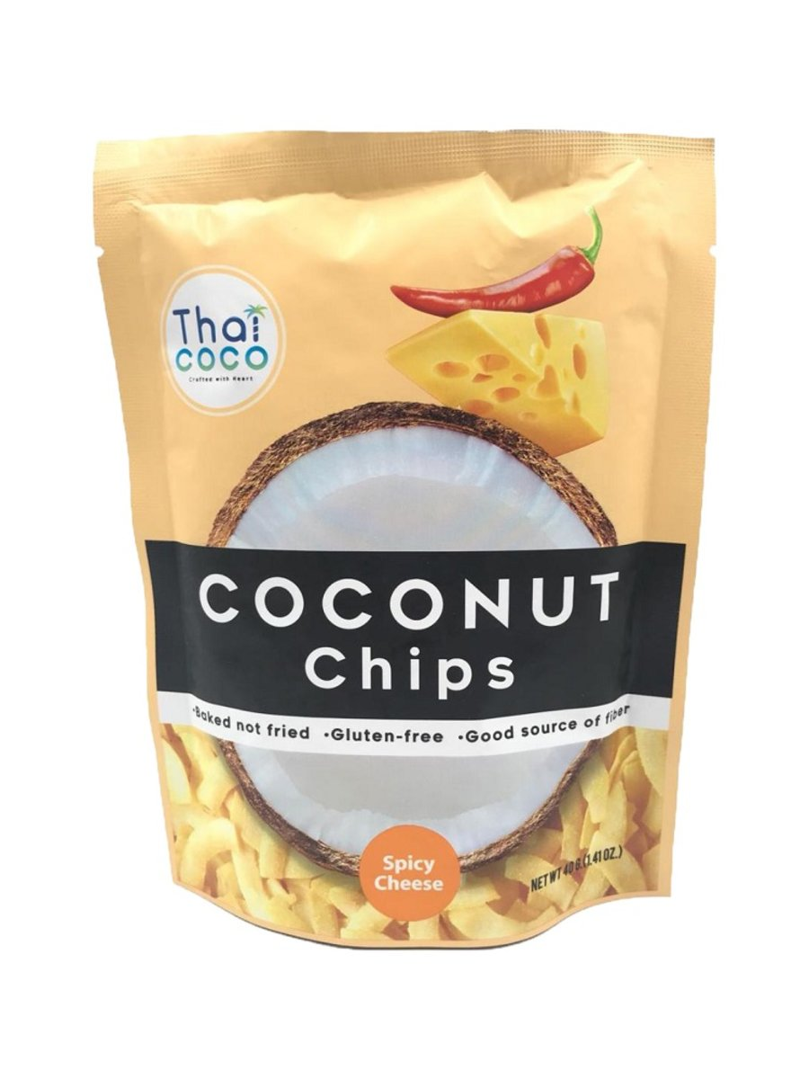TC - Coconut Chips (Spicy Cheese) 40g