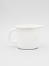 enamel Jug (0.5/0.75/1L) - White Colour