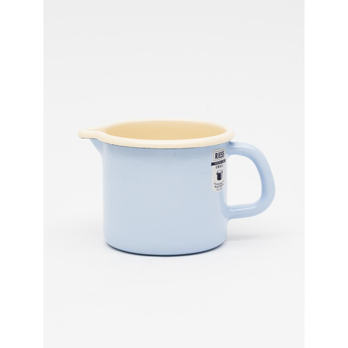 500ml enamel Jug - Lt. Blue