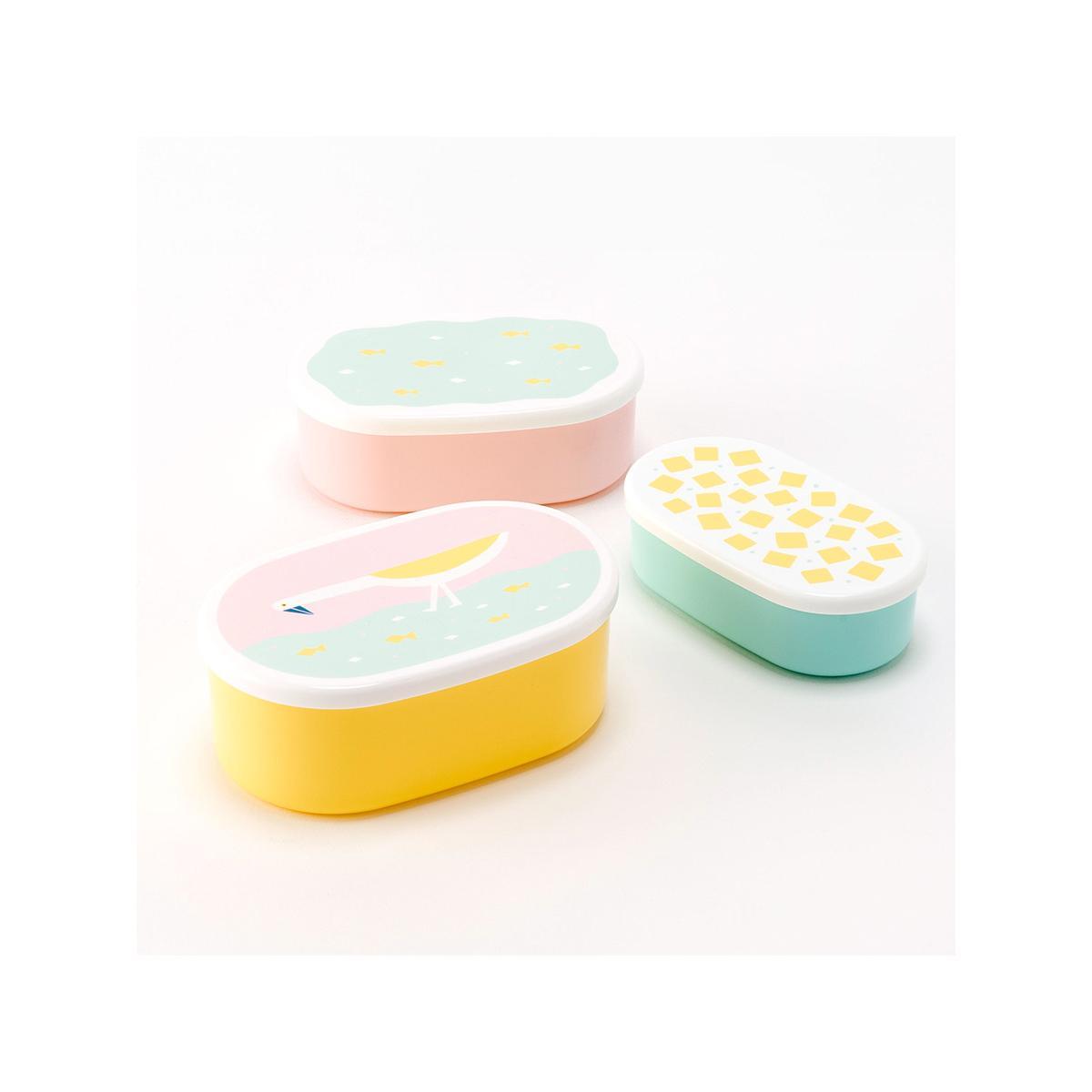14 x 5cm PP食物盒套裝 (BPA free ) - 雀仔