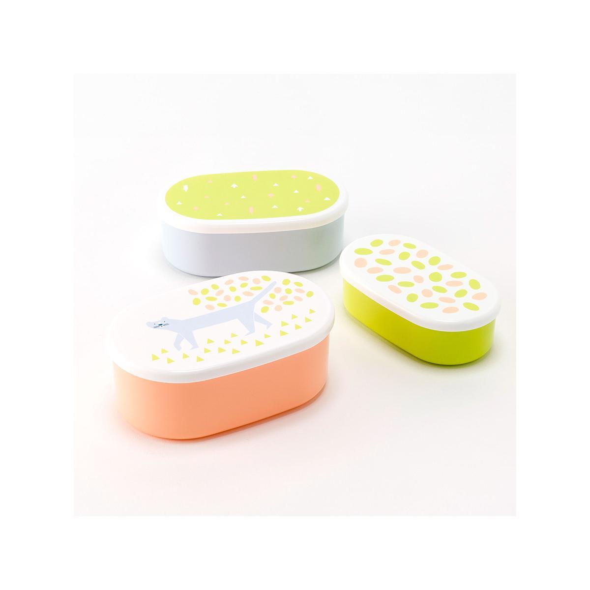 14 x 5cm PP box set (BPA free) - Cat print