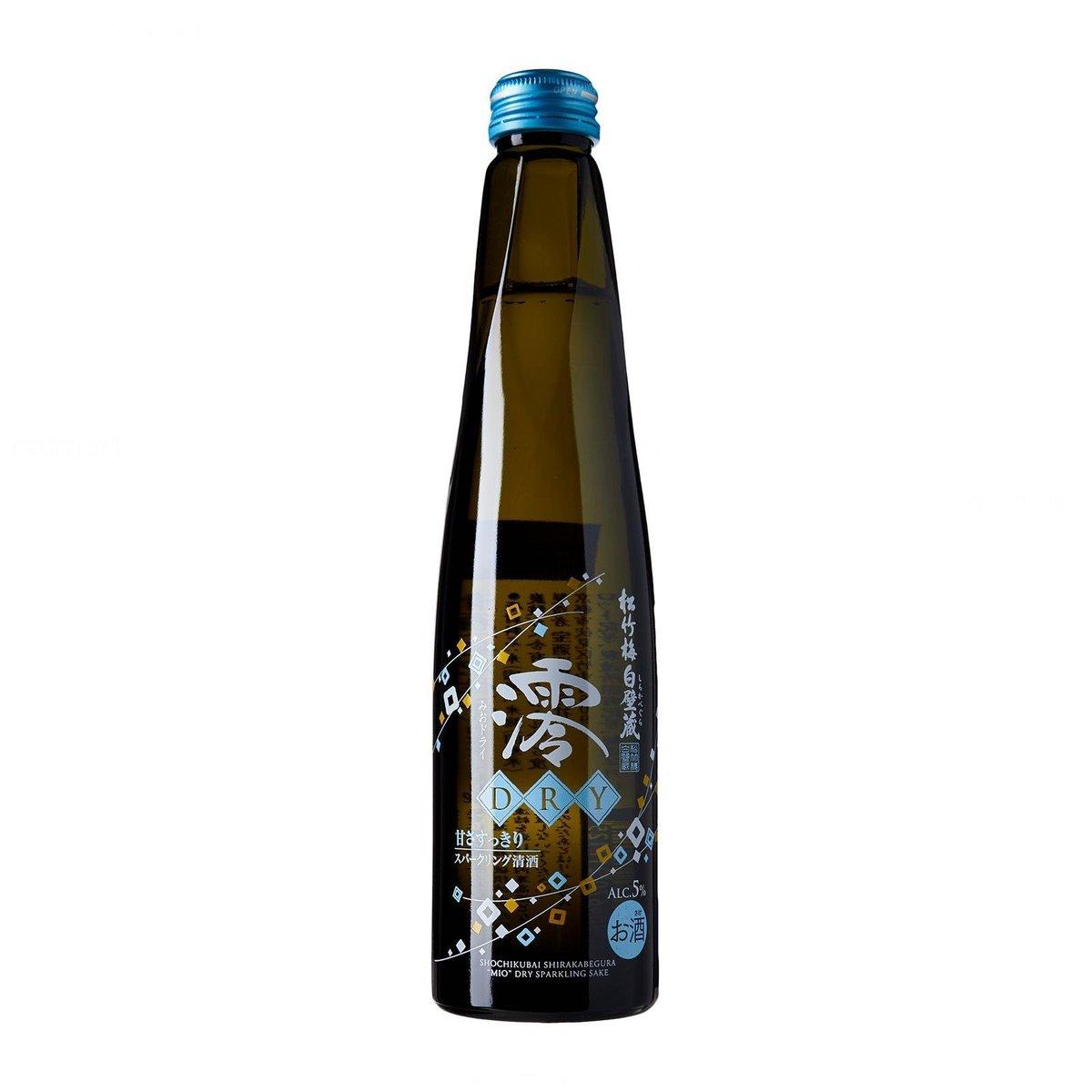 """""""Dry"""" Sparkling Sake (300ml)"""