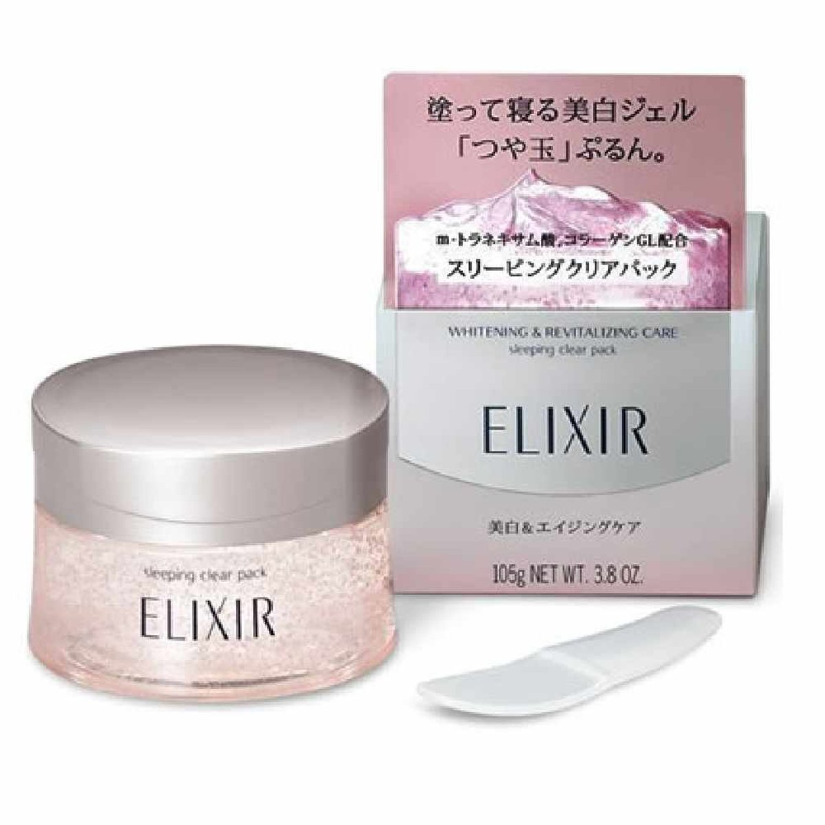 Elixir Whitening and Revitalizing Care Sleeping Clear Pack Elixir 105g [Parallel Import]