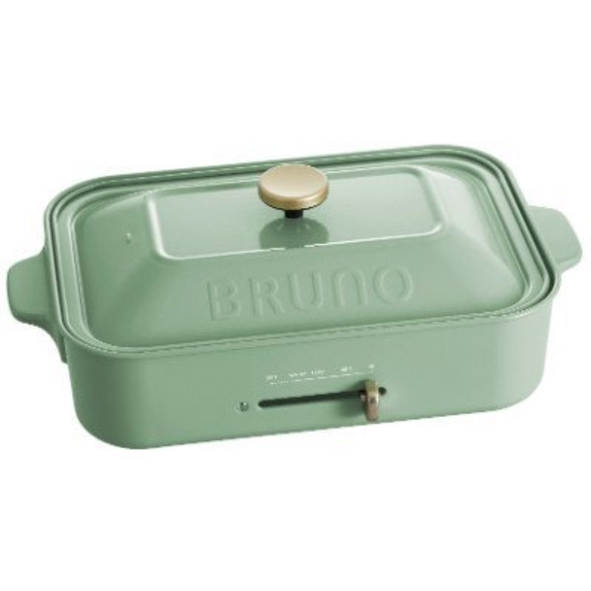 Compact Hot Plate 1200W - Smokey Green BOE021-SMGR