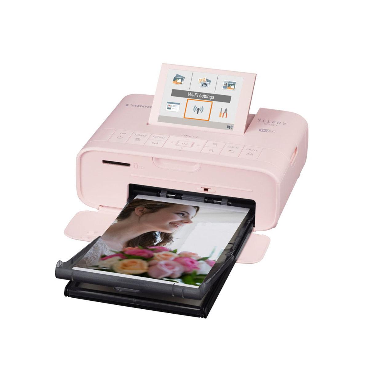 SELPHY CP1300 輕巧相片打印機 粉紅色 Canon