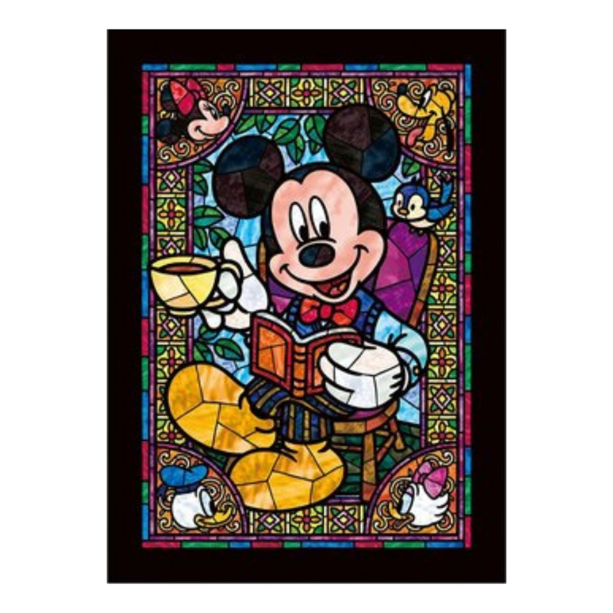 DSG-266-955 266 pieces puzzle Mickey Mouse (4905823859551) [Licensed by Disney]