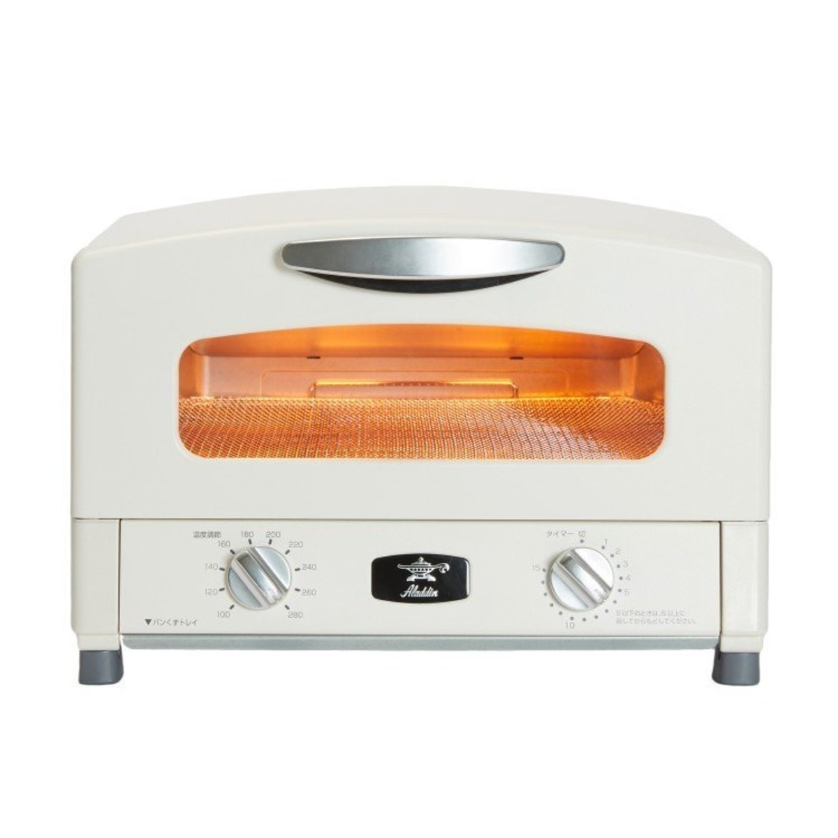 AET-G16SW Graphite Grill & Oven Toaster Ivory White
