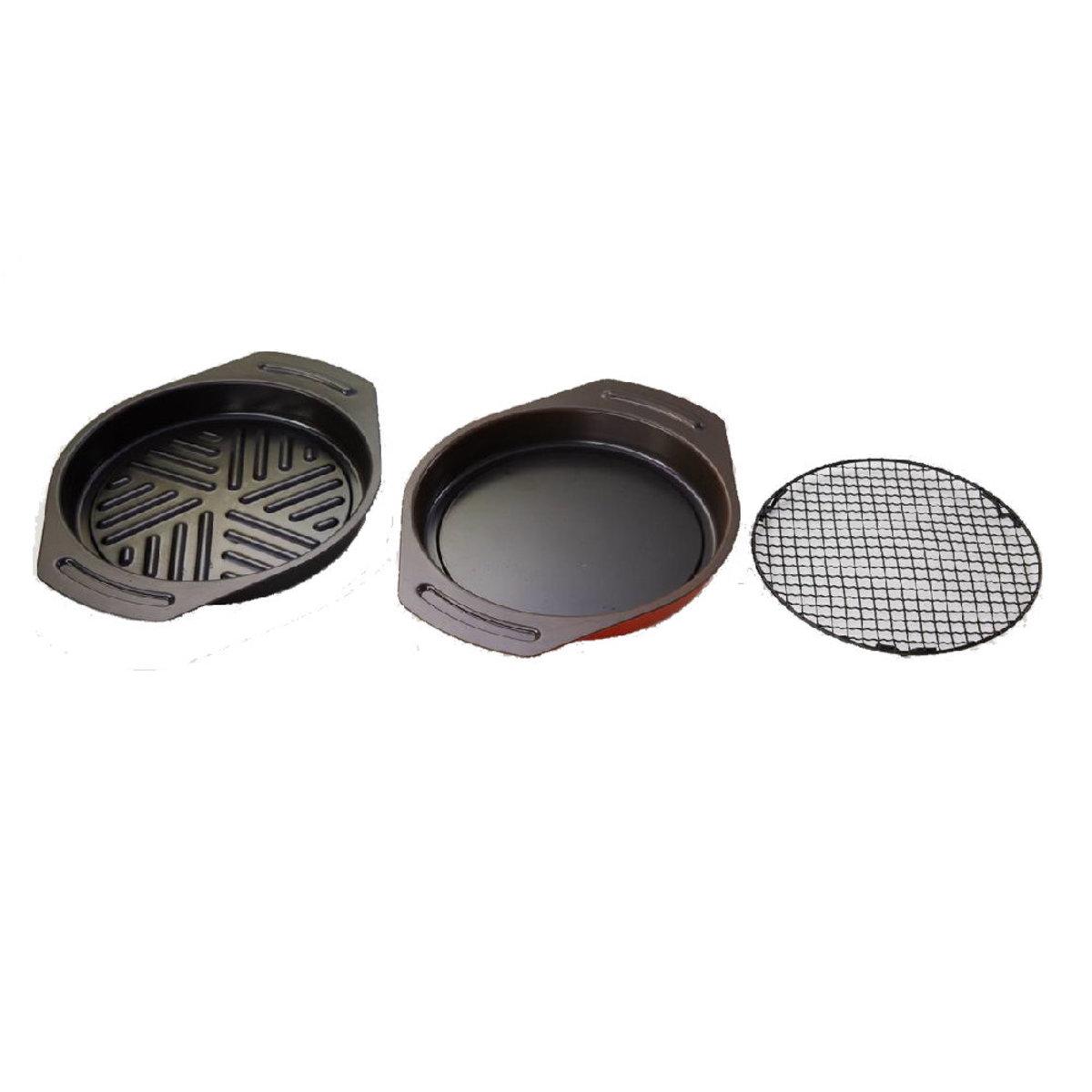 圓型兩用烤盤