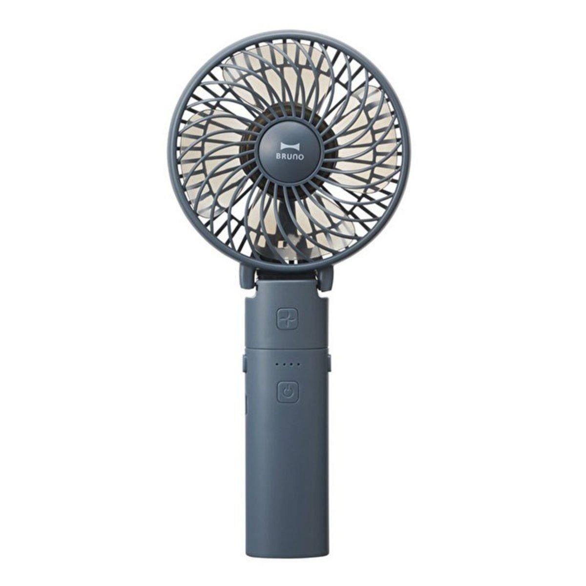 BDE029-NV 兩用便攜迷你風扇 移動電源(海軍藍)