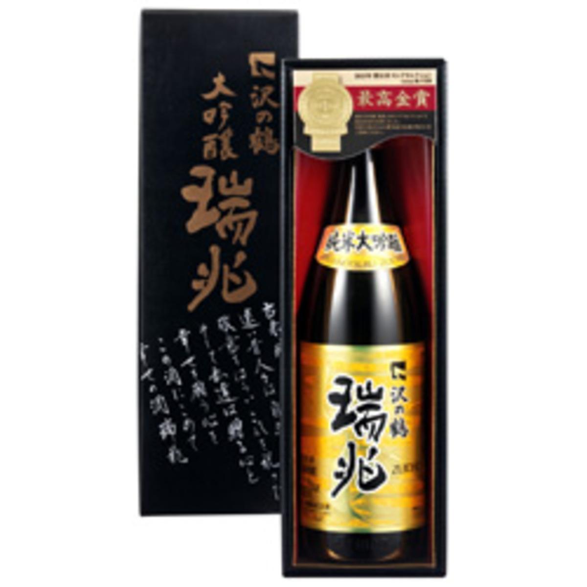 沢の鶴 纯米大吟釀「瑞兆」720ml