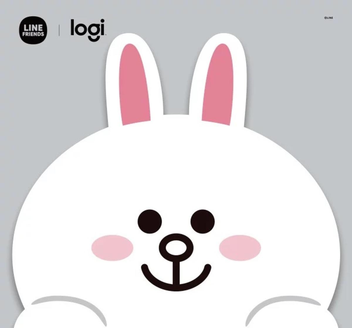 Logi x LINE FRIENDS Cony 滑鼠墊