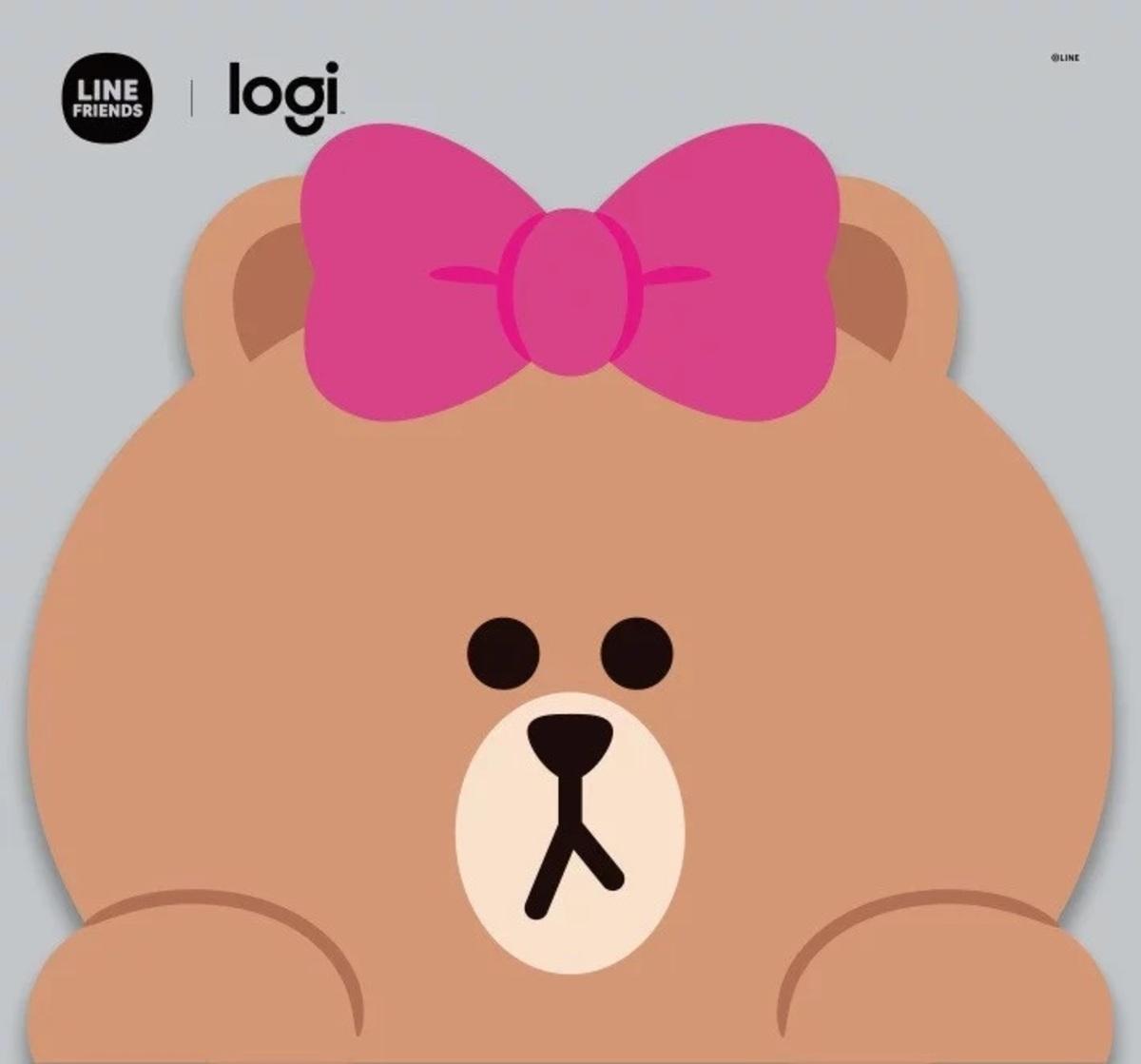 Logi x LINE FRIENDS Choco 滑鼠墊