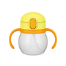 NPD-250 兒童吸管水杯 黃色