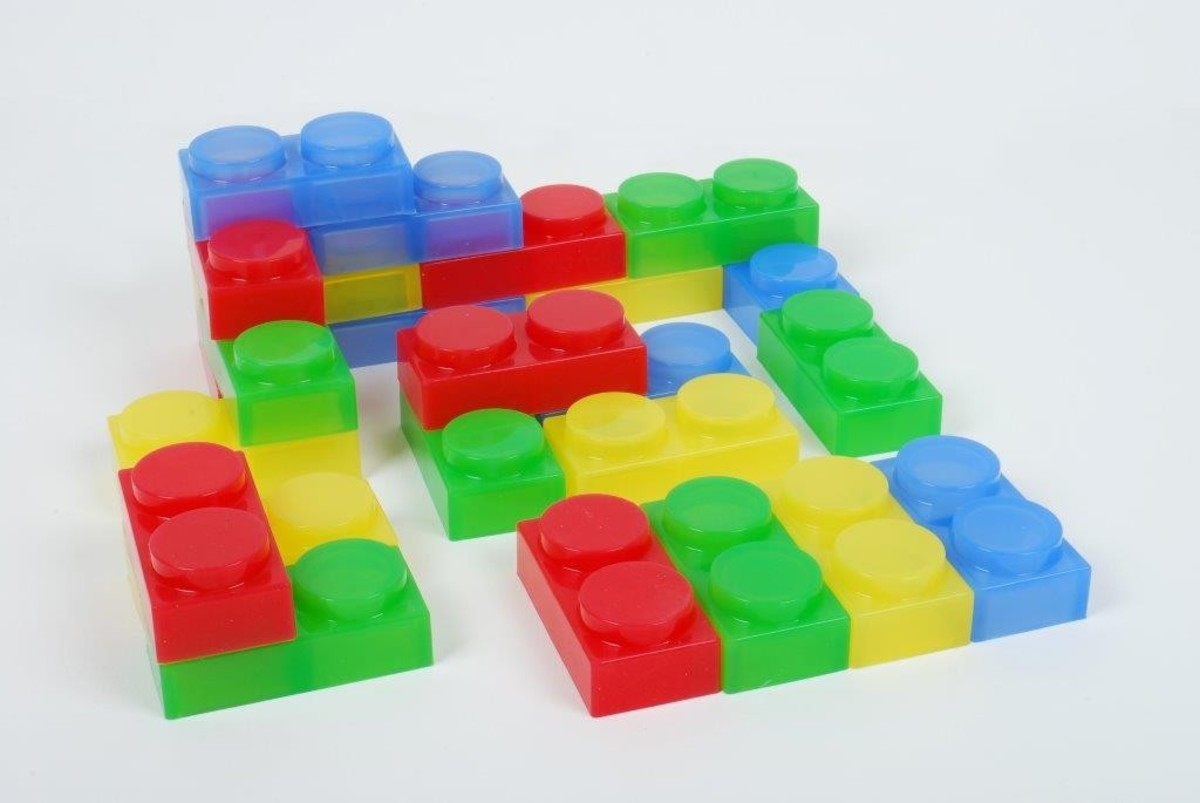 Sili Shapes Soft Bricks 24Pk