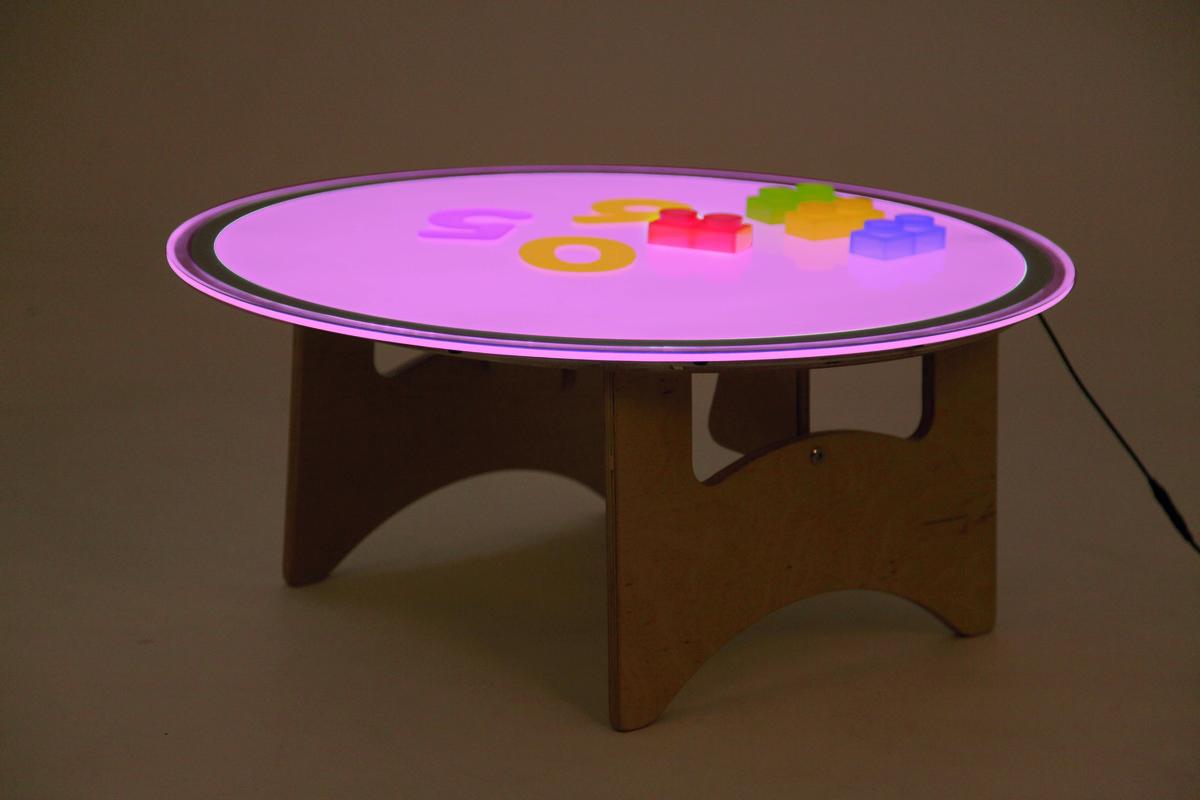英國幼兒教育專家品牌: 圓形變色燈盤