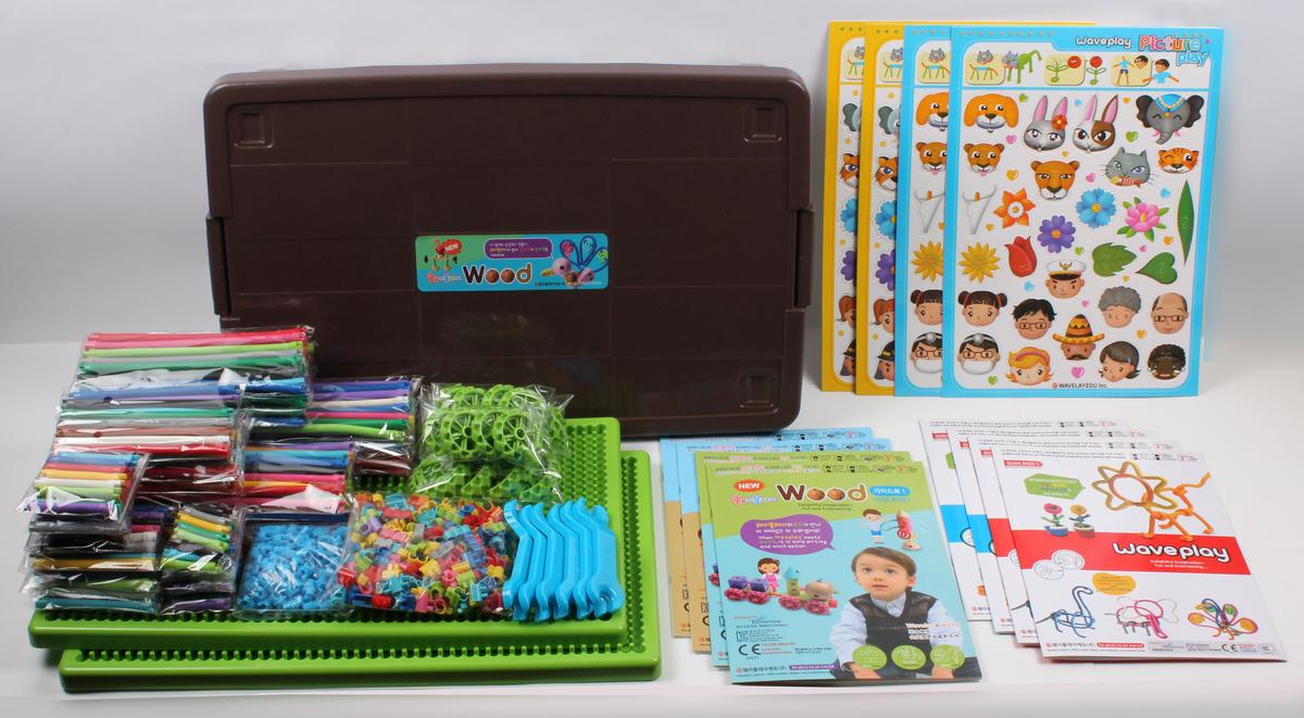韓國 幼兒教育STEAM扭扭樂教育玩具 - W套裝