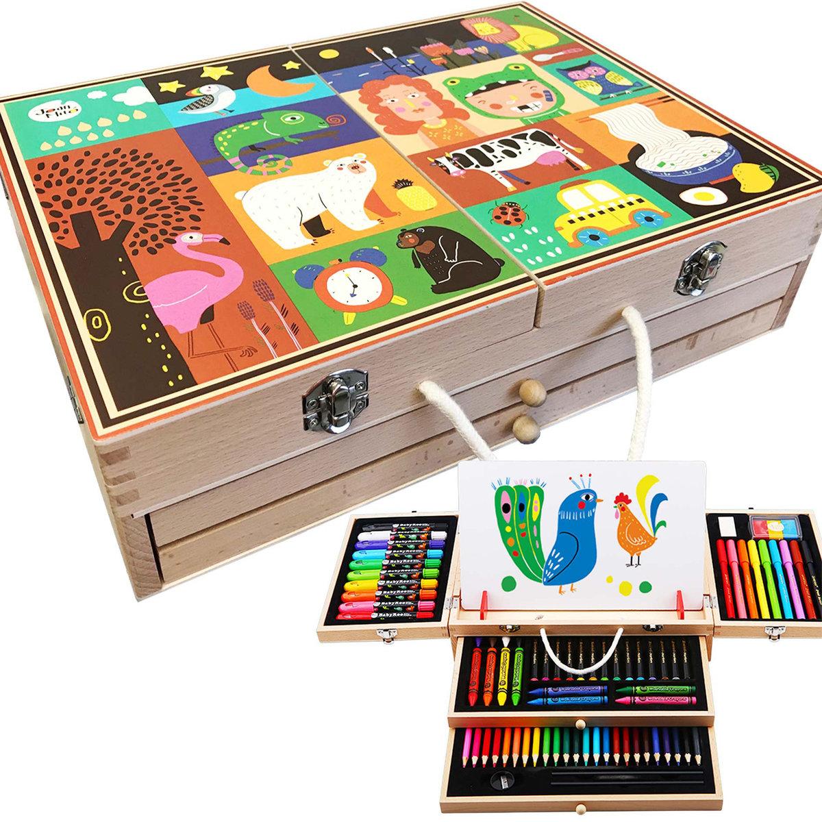 木盒顏色禮盒