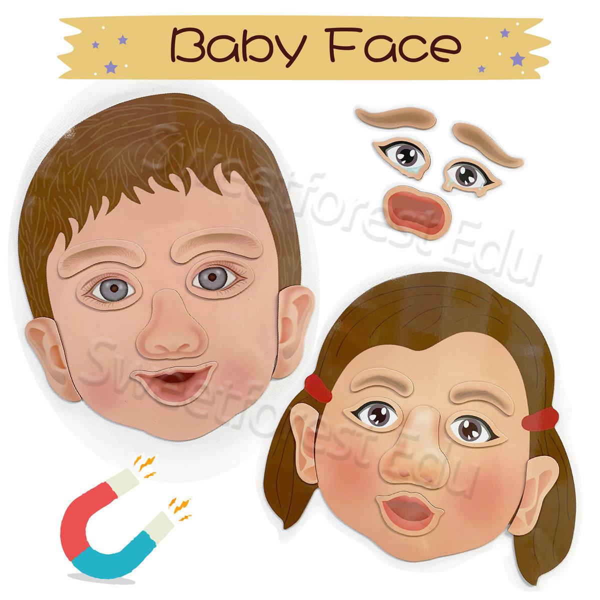 娃娃臉(磁鐵貼)
