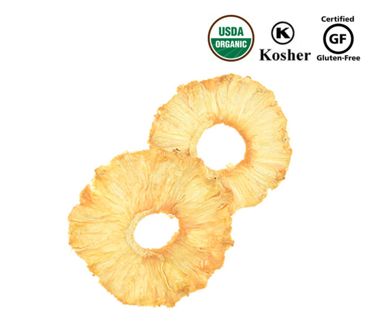 Miss Bear | Organic Dried Pineapple Imported from USA Origin