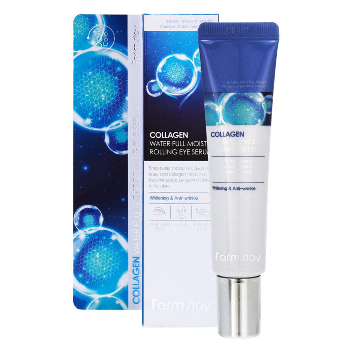 Collagen Water Full Moist Rolling Eye Serum 25ml - [Parallel Import Product]