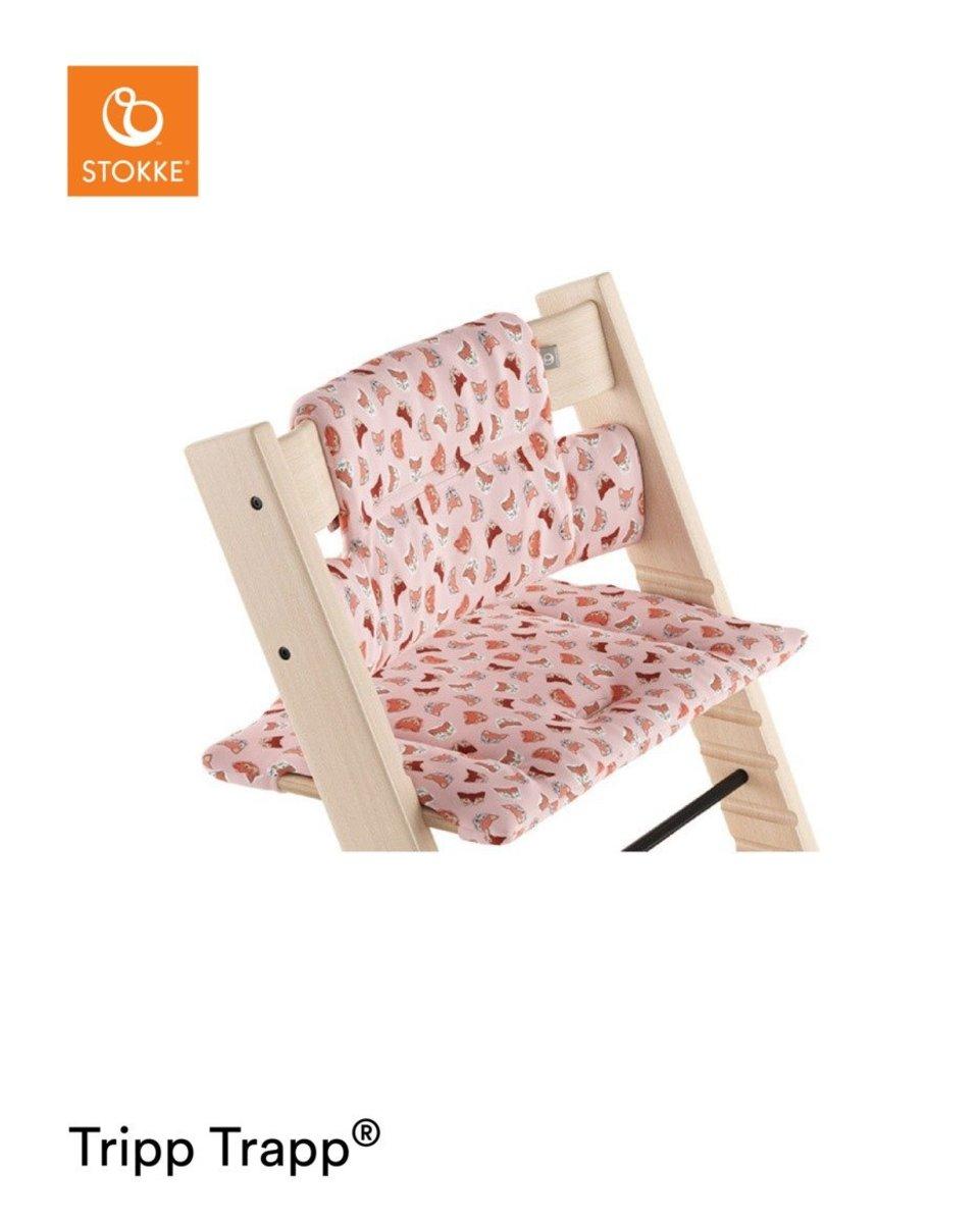 Tripp Trapp® Cushion - Pink Fox  (100364)