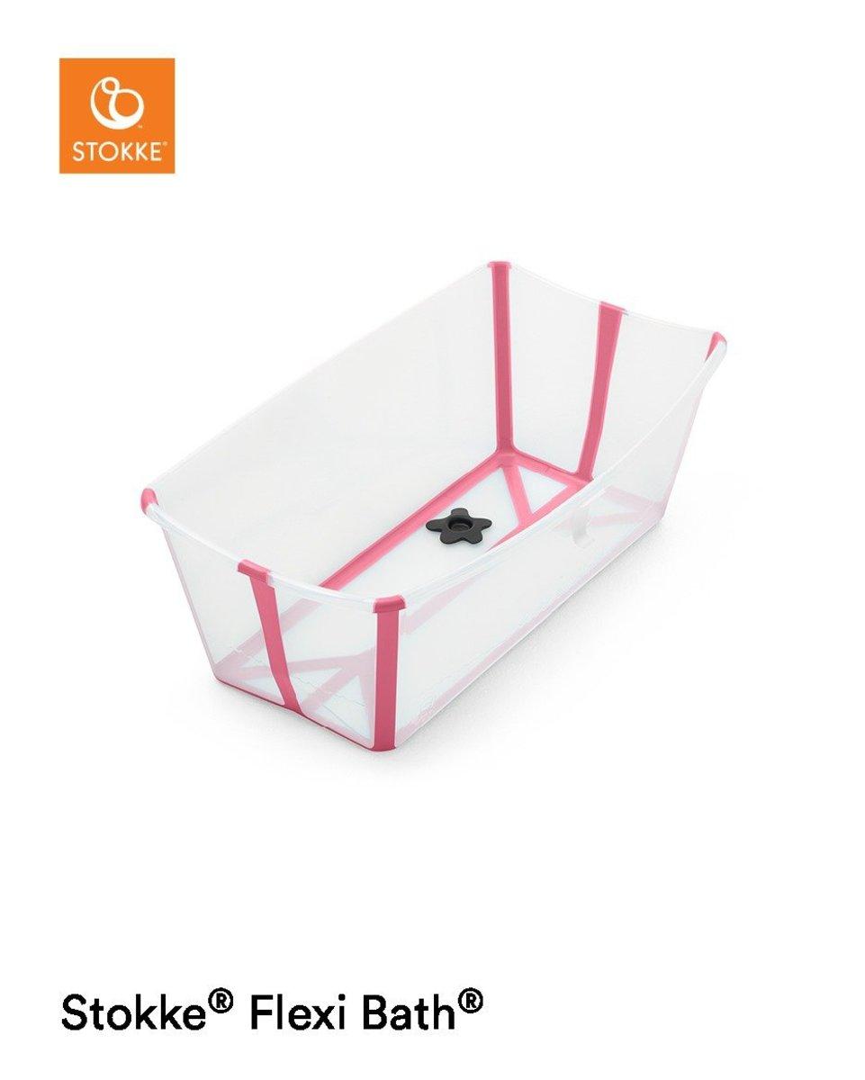 Stokke® Flexi Bath™ - Transparent Pink