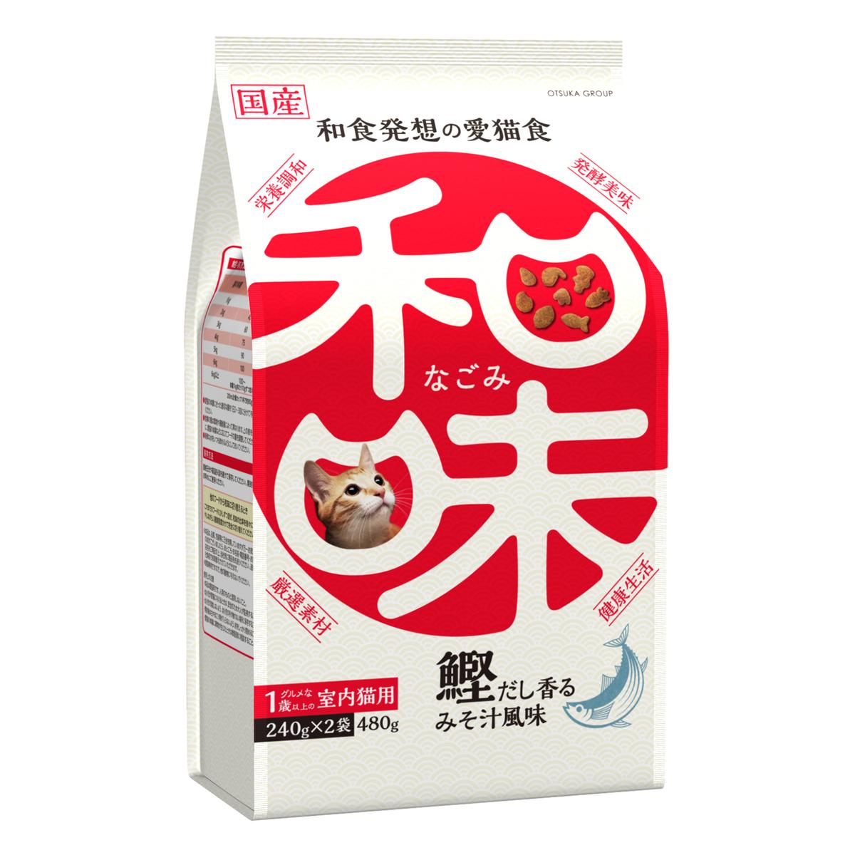 日本和味鰹魚風味貓乾糧 480G