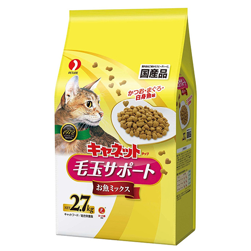 Canet-chip Hairball Mix Fresh Fish Flavor 2.7kg(Over $300, Free Delivery)