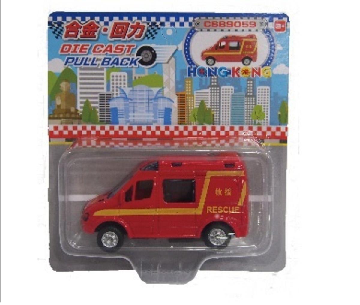 咭裝迷你 紅色救護車