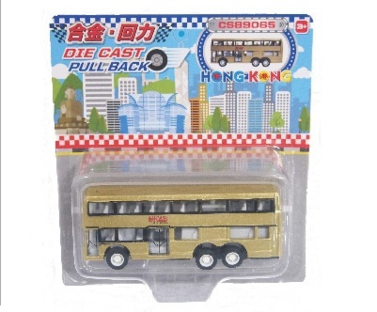"MINI DOUBLE-DECK BUS ""GOLDEN"""