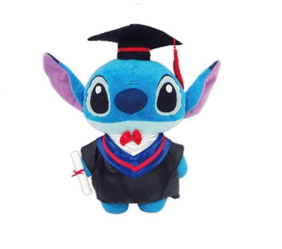 12Inch Stitch Graduation Plush Doll