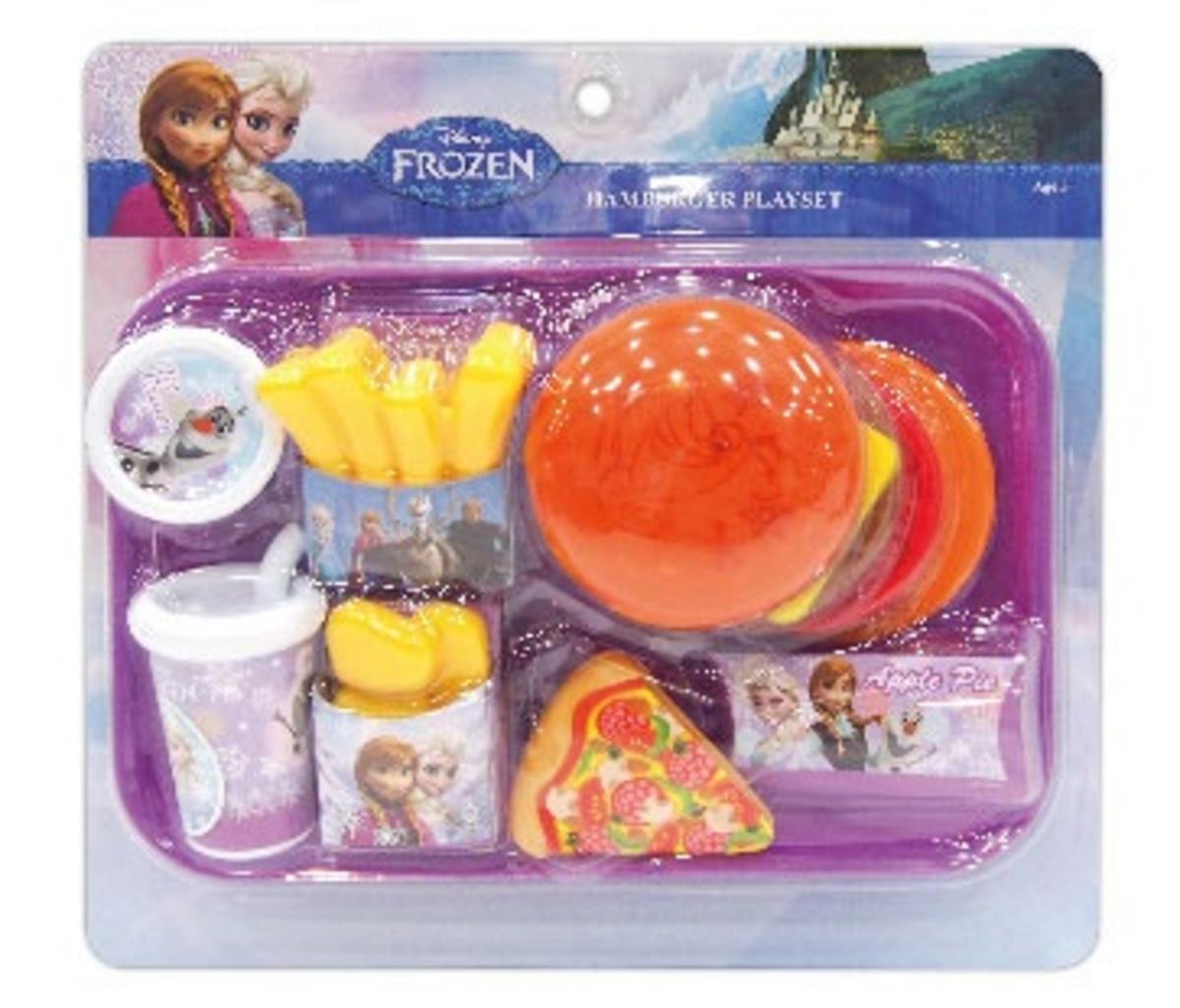 FROZEN Burger toy
