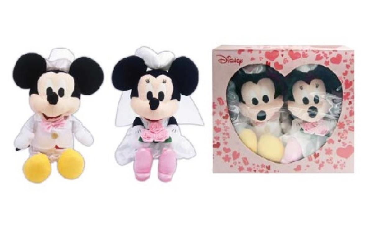 13.5Inch Mickey Wedding Plush Doll