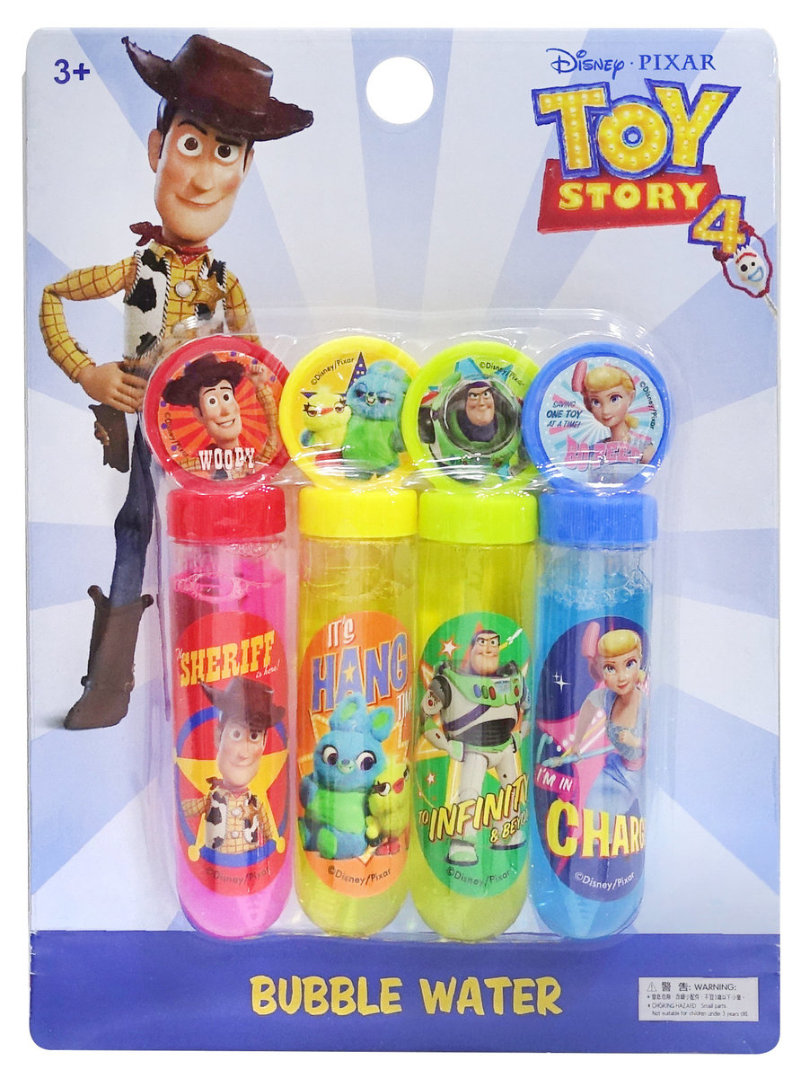 TOY STORY 4 STICKS OF BUBBLE WATER