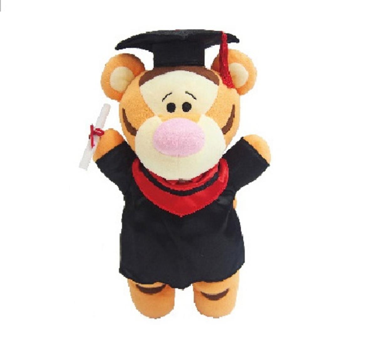 12Inch Tigger Graduation Plush Doll