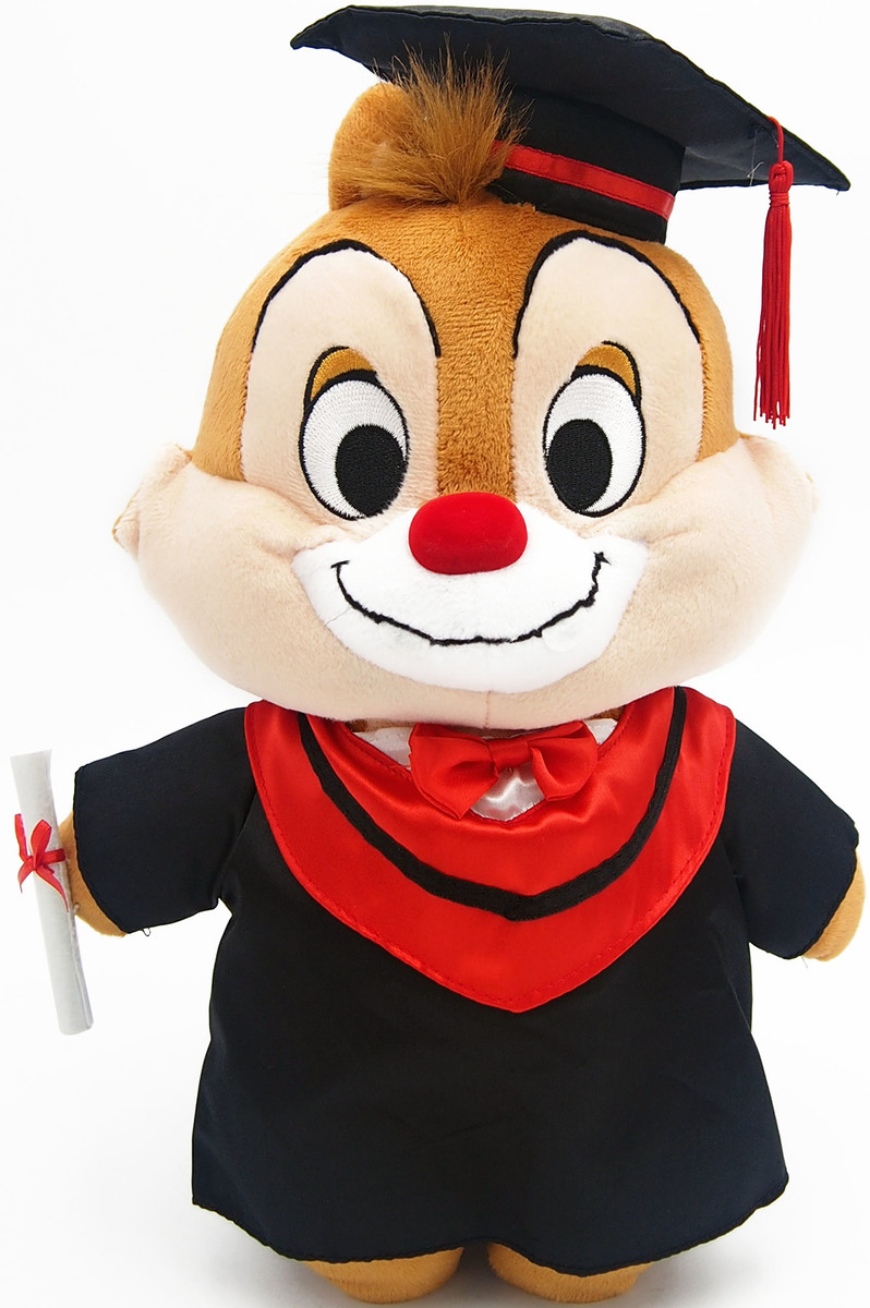 13Inch Dale Graduation Plush Doll